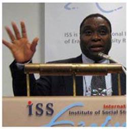 Charles Ndereyehe, umujyanama ushinzwe ingamba nu nama mpuzabikorwa ya FDU-Inkingi mu mahanga