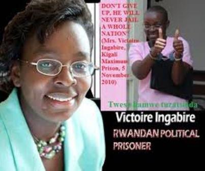 Victoire Ingabire, présidente du parti FDU-Inkingi