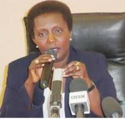 Donatille Mukantaganzwa, wahoze ategeka iinkiko Gacaca