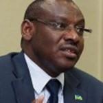 Amb. Claver Gatete , ministre w'imari