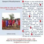 Sexualité et Rites en Afrique. Hier et aujourd'hui