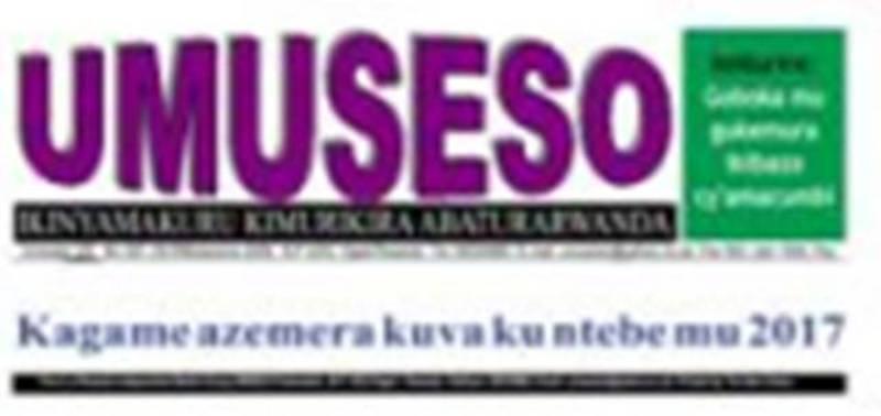 Muri 2009, ikinyamakuru « Umuseso » cyari cyarabonye ko Kagame atazava ku butegetsi muri 2017 nkuko itegeko nshinga ribimusaba!
