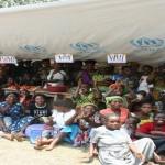 Des réfugiés rwandais au Sud-Kivu/radio okapi.