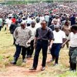 President Kagame at Umuganda with residents of Nduba in Gasabo District, Kigali, 26 November 2011/photo http://www.newsofrwanda.com/