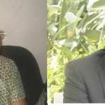 Christine Mukabunani na Frank Habineza