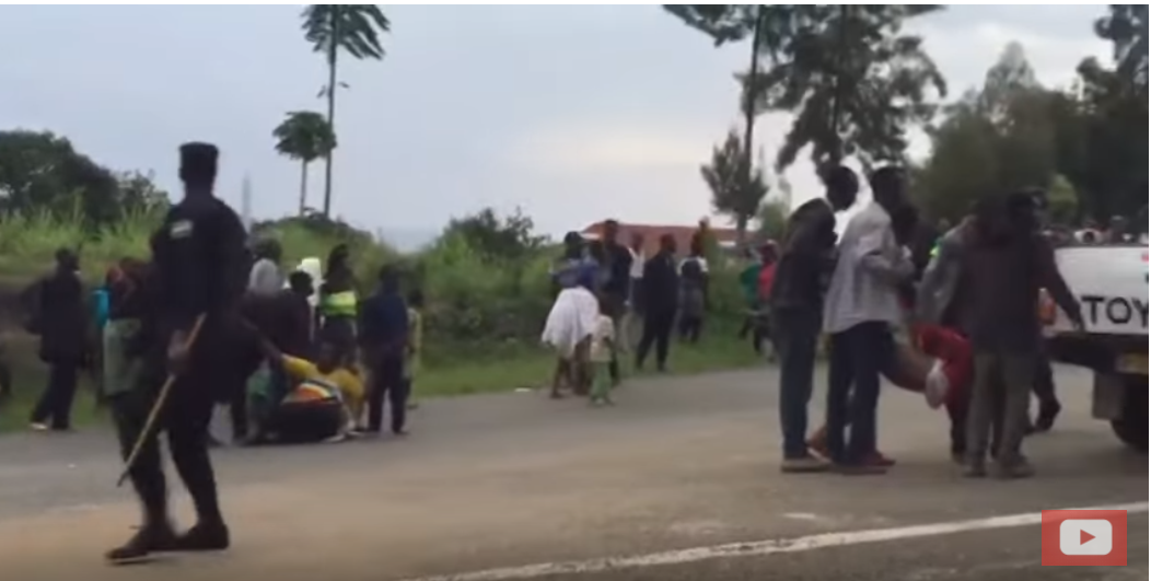 Kuri 22/02/2018, Polisi y'u Rwanda yarashe impunzi za Kiziba