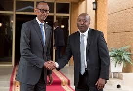 Paul Kagame et Edouard Ngirente