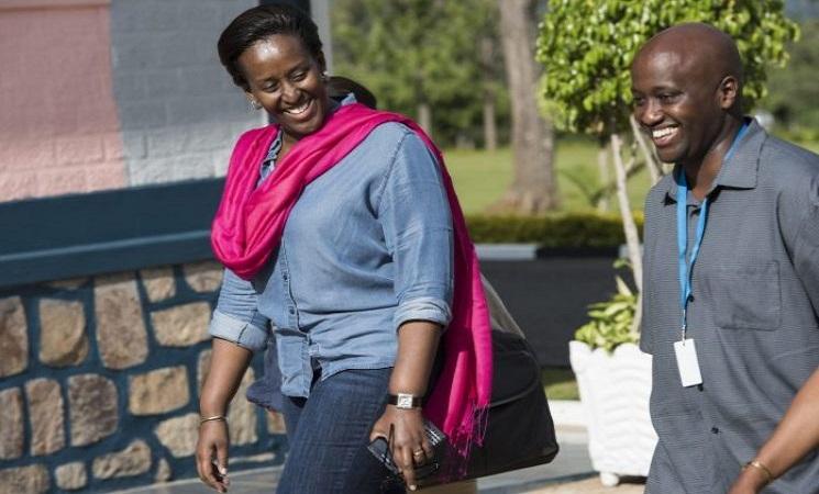 Jeanette Kagame na Olivier Nduhungirehe