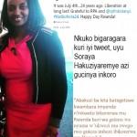 Ministri Soraya Hakuziyaremye nawe yatangiye kuvugishwa